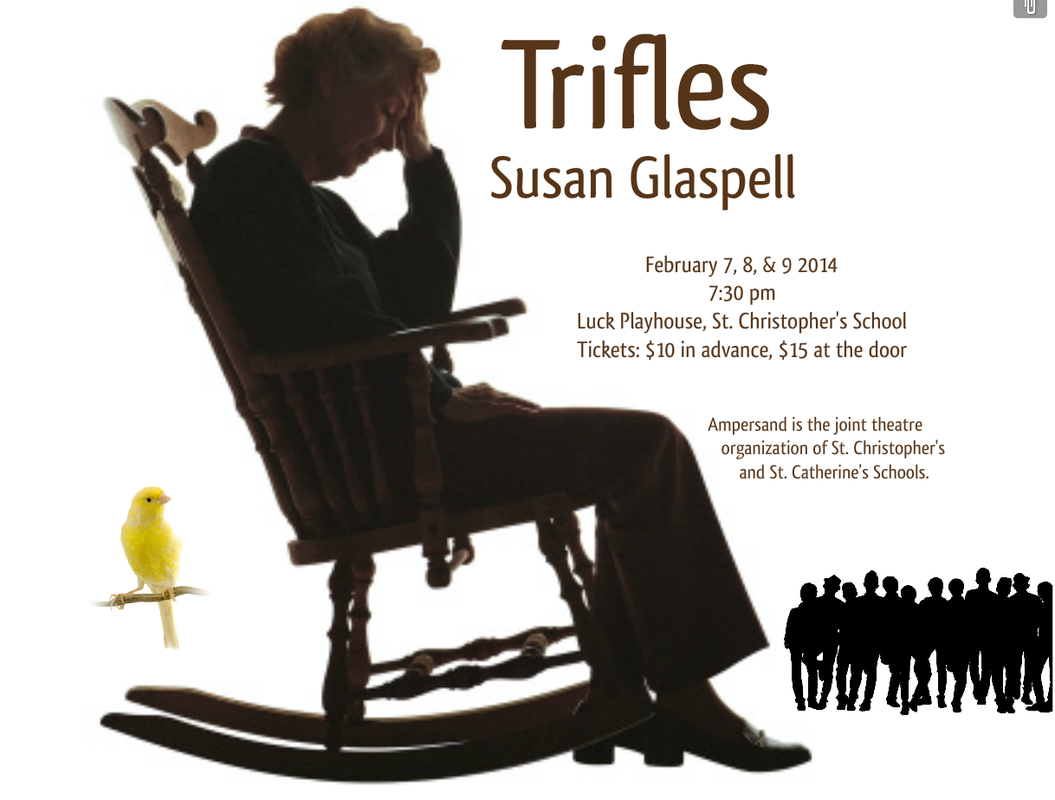 literary analysis of the play trifles written by susan glaspell Everything you need to know about the setting of susan glaspell's trifles, written by experts literature / trifles / analysis / but we do know the play was.